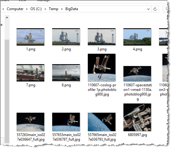 image folder to compress